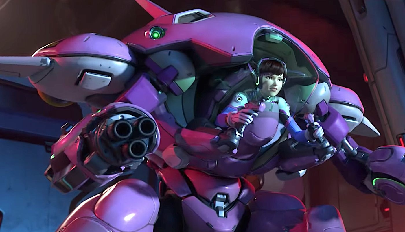 Unexpected Overwatch Glitch Gives D.Va a Different View