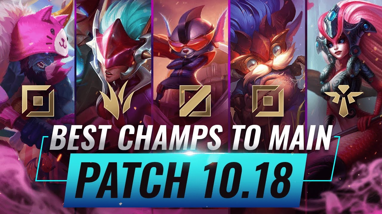 Who Are the Strongest League of Legends Champions in Patch 10.18?
