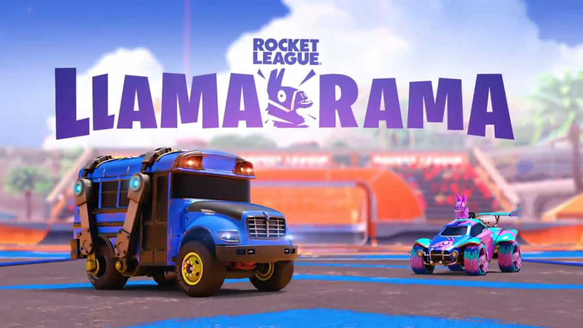 What Do the Fortnite Llama-Rama Rocket League Rewards and Challenges Consist Of?